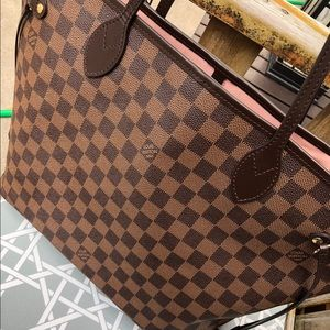 Louis Vuitton Bags - Louis Vuitton neverfull MM PINK